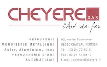CHEYERE L'ART DE FER