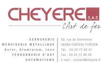 CHEYERE L'ART DE FER