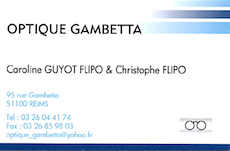 OPTIQUE GAMBETTA