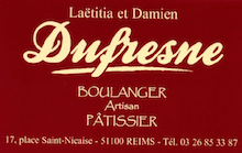 DUFRESNE Boulanger patissier