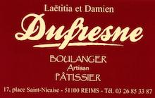 DUFRESNE Boulanger patissier
